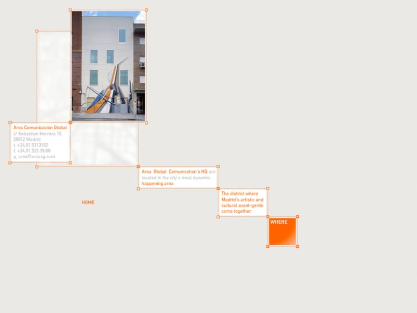 Website Área Comunicación Global 2