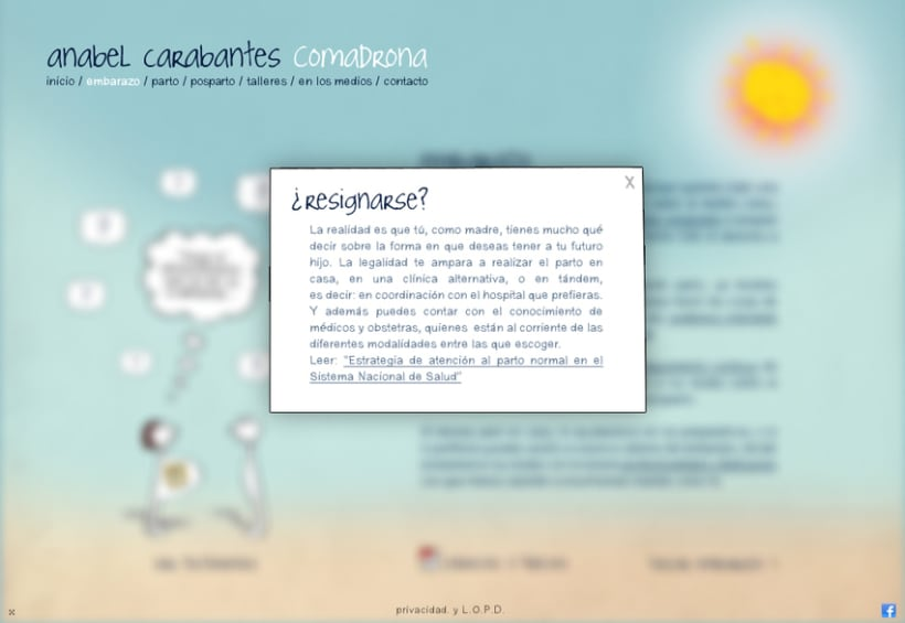Website Anabel Carabantes Comadrona 3
