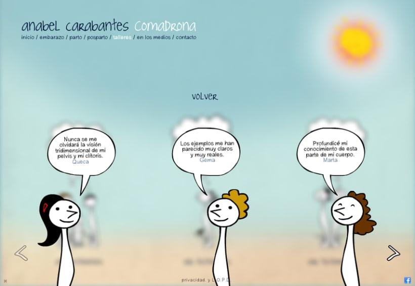 Website Anabel Carabantes Comadrona 5