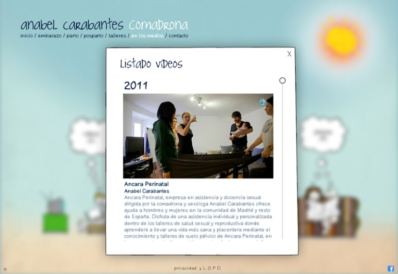 Website Anabel Carabantes Comadrona 7