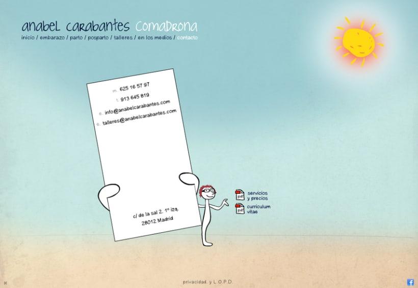 Website Anabel Carabantes Comadrona 8