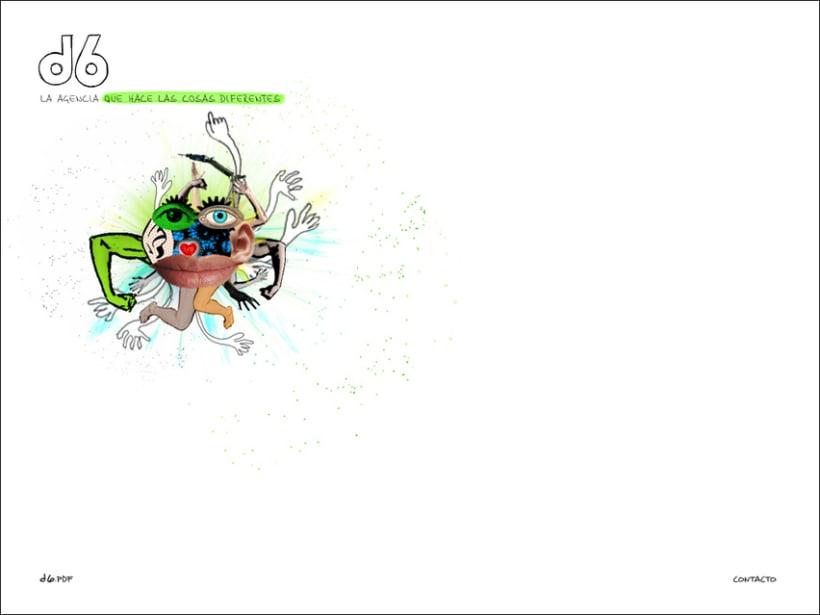 Website Agencia d6 2