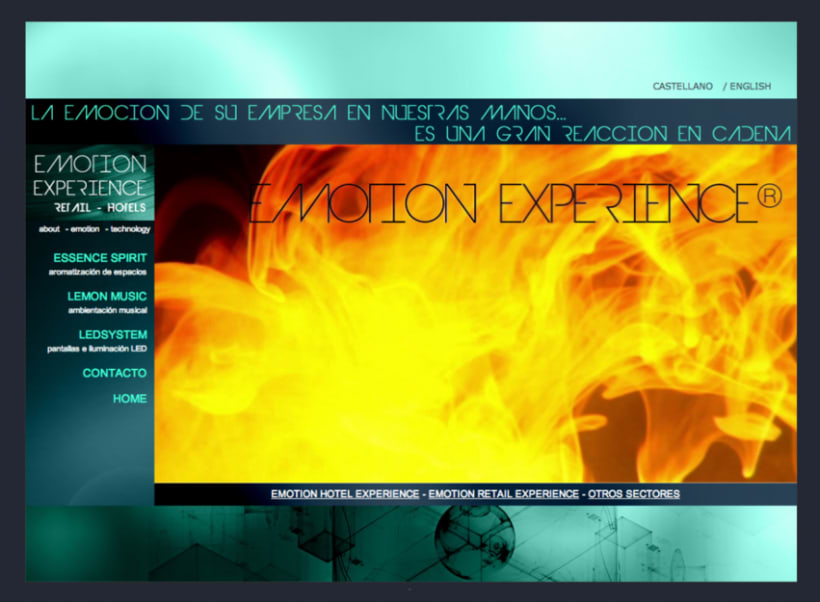 Emotion Experience - Diseño y Maquetación web 2