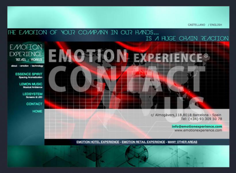 Emotion Experience - Diseño y Maquetación web 6