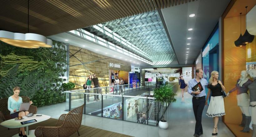 Infografía 3D Centro Comercial NONAME -1