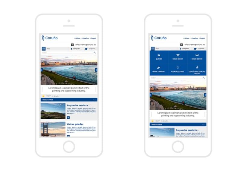 Turismo A Coruña App 1