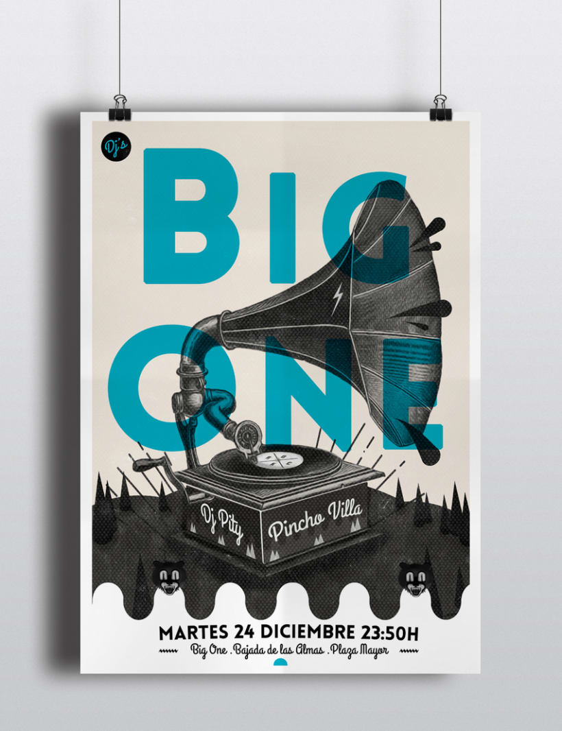 Cartel Big One Dj's 0