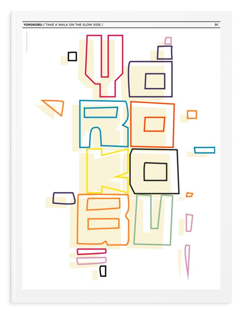 - Lettering - Propuesta Concurso Yorokobu 2014  0