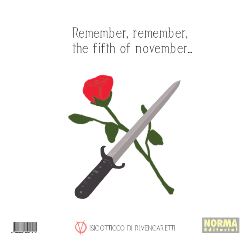 Remember, remember, the fifth of november - book alternative cover 2