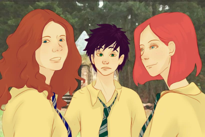 Based on 3rd Harry Potter Generation characters ~ 8