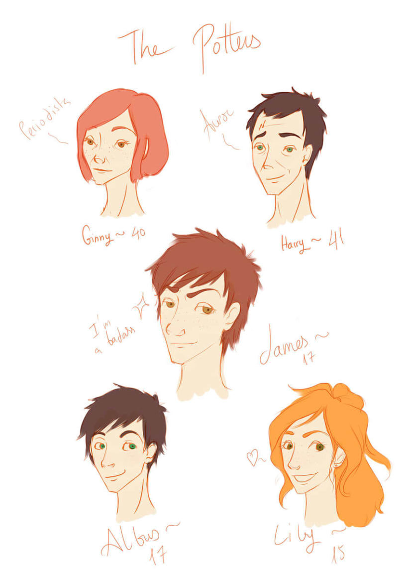 Based on 3rd Harry Potter Generation characters ~ 11
