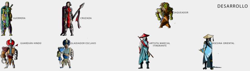 Práctica de Diseño de Personajes 7