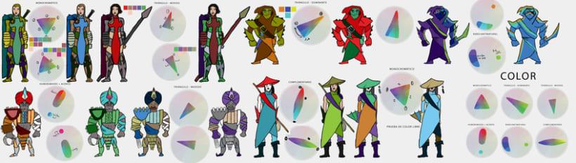 Práctica de Diseño de Personajes 6