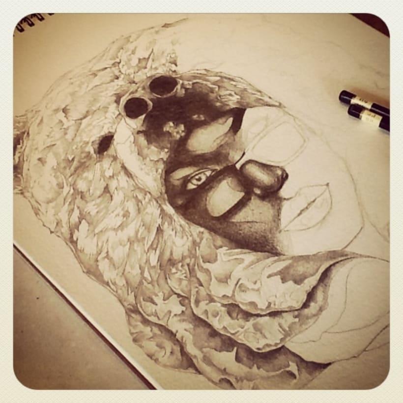 Ilustraciones en proceso 2013 -1