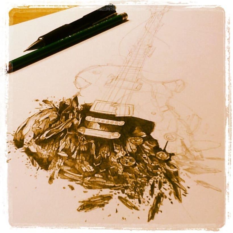 Ilustraciones en proceso 2013 1