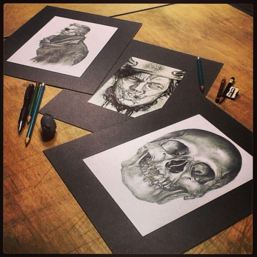 Ilustraciones en proceso 2013 2