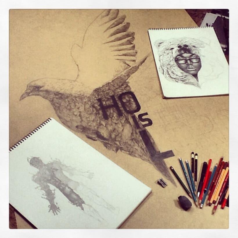 Ilustraciones en proceso 2013 3