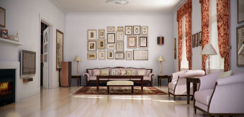 Classic Living Room  -1