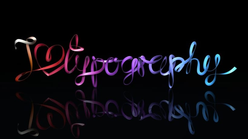 I LOVE TYPOGRAPHY -1