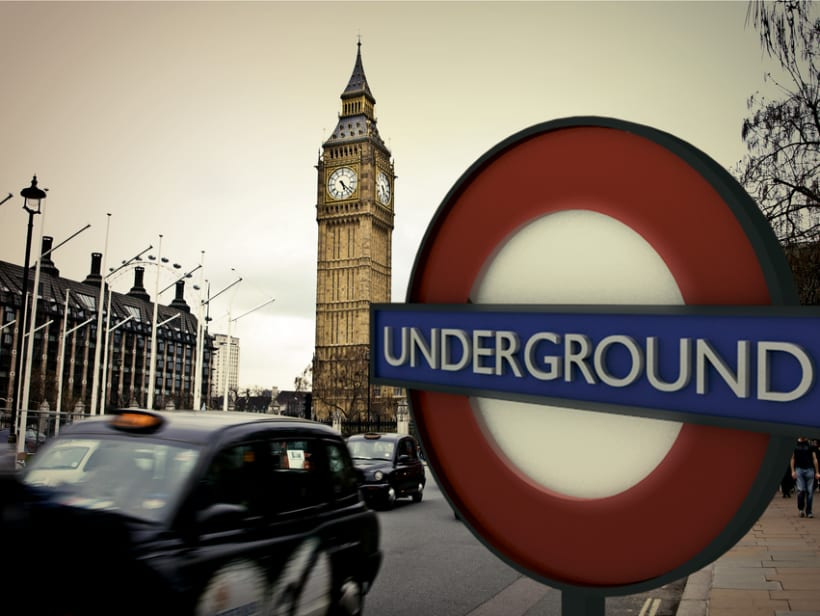 Modelado 3D: London Underground 0
