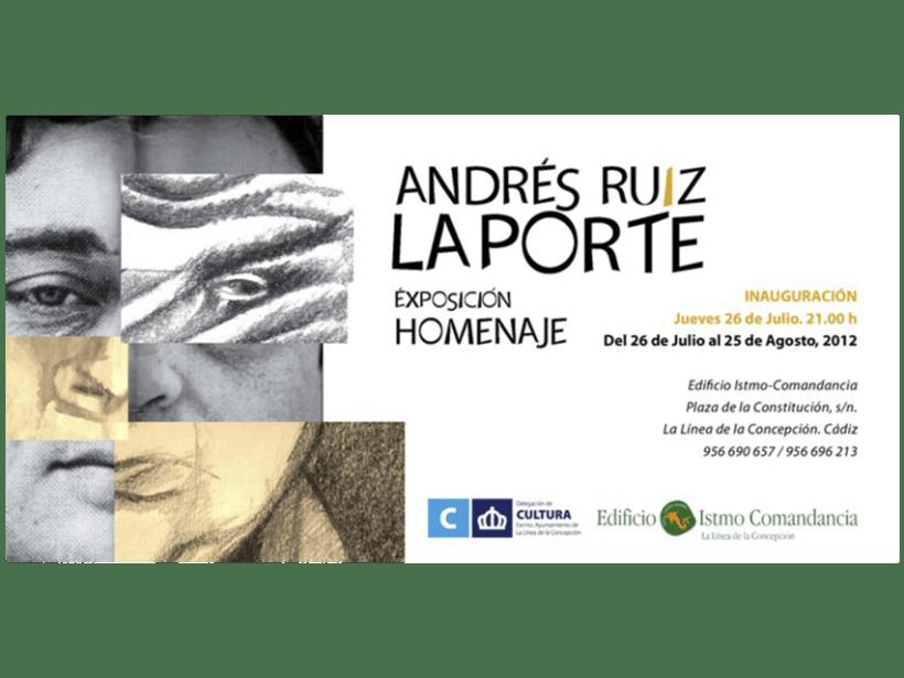 Exposición Homenaje Andres Ruiz Laporte -1