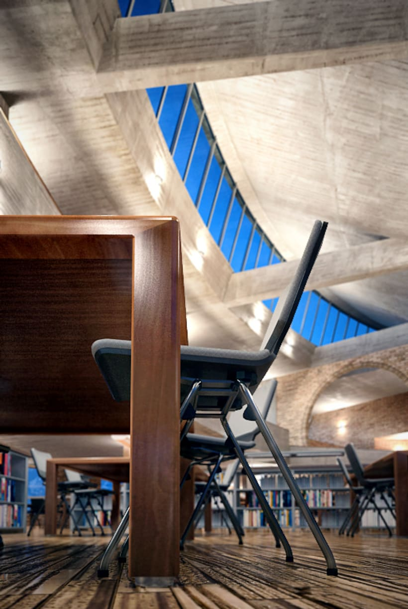 Virgilio Barco Library 1