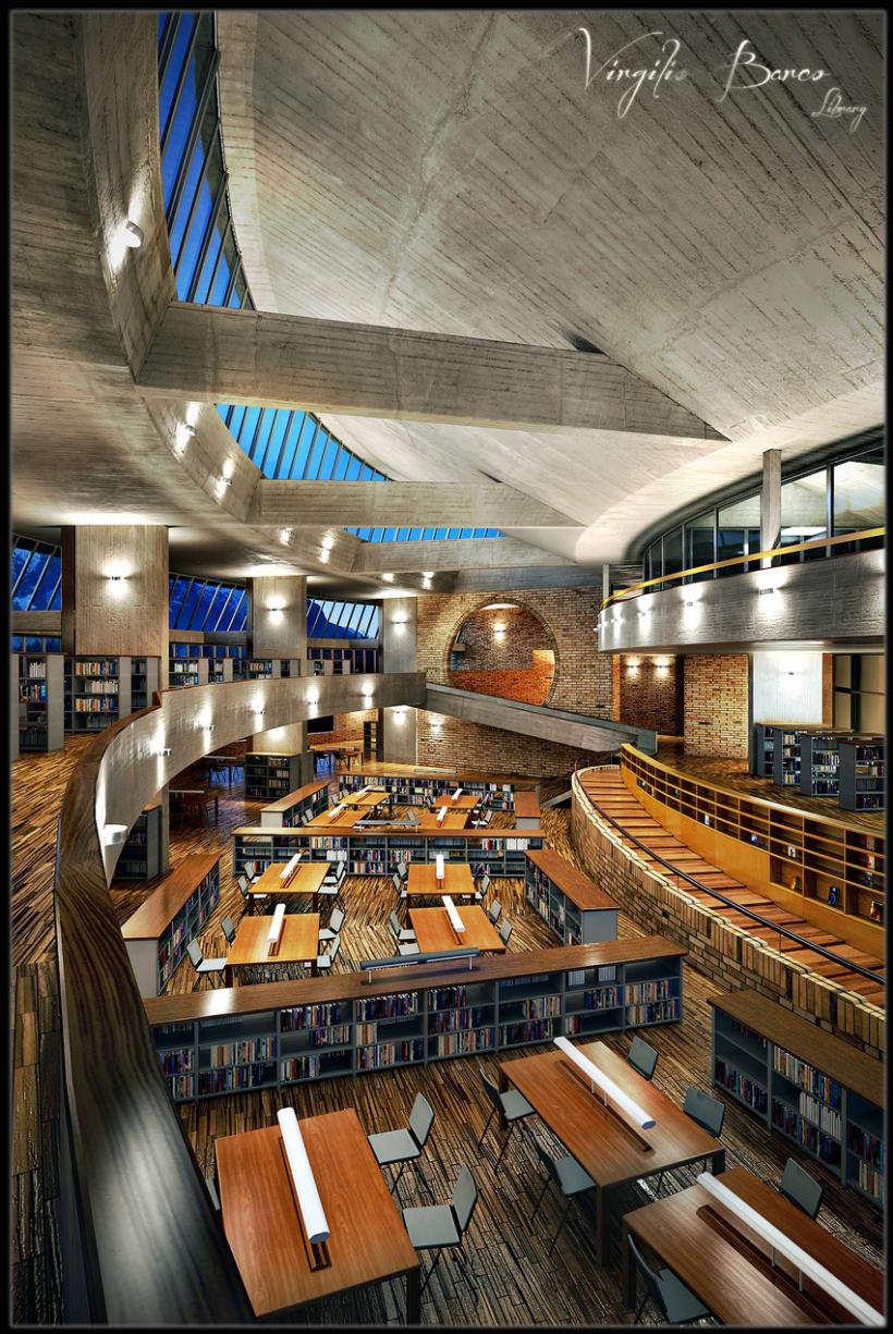 Virgilio Barco Library 0