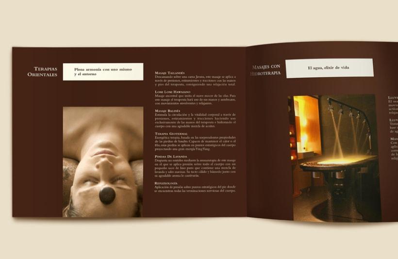 "Id. corporativa y catálogo ""Spalace"" Hilton 1"