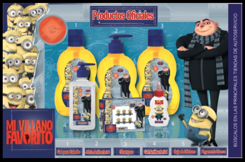Realización de productos oficiales para Universal Studios México 0