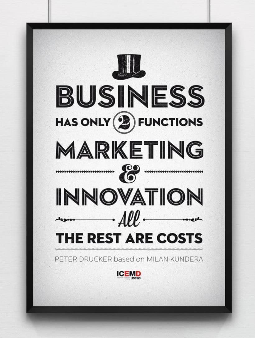 Posters para oficinas ICEMD 9