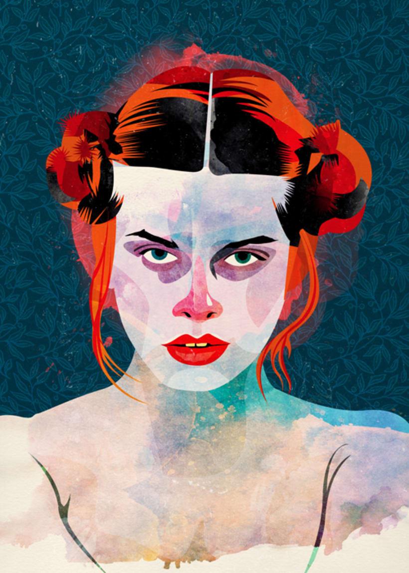 Ilustraciones inspiradas en el cine  35
