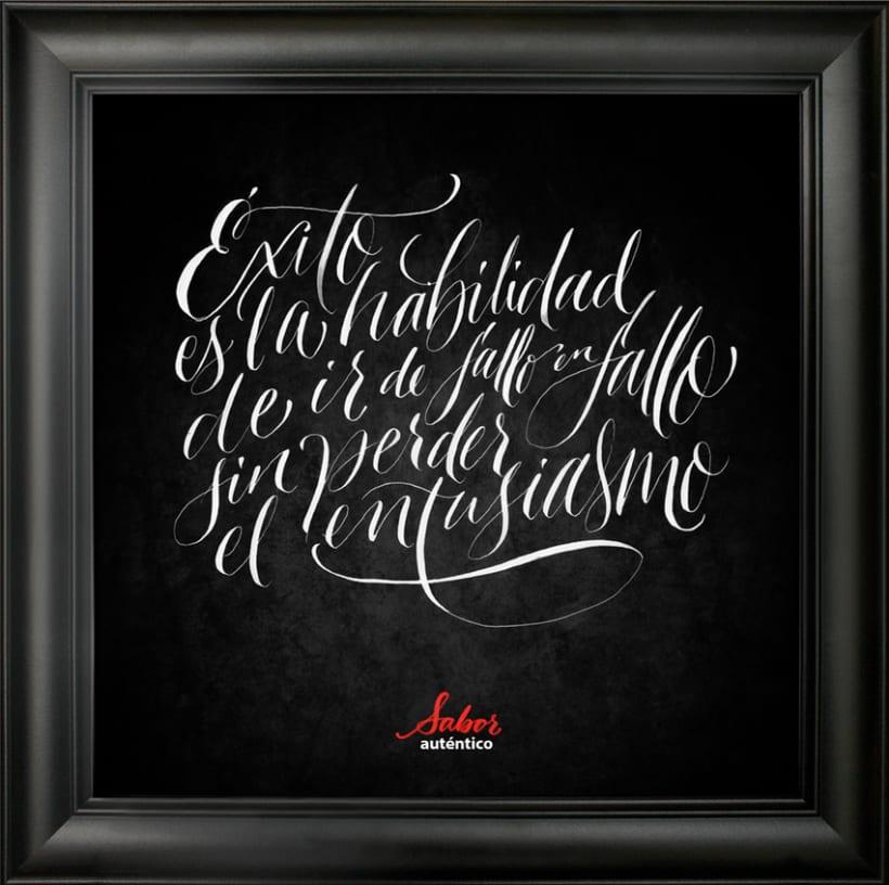 Coca cola zero calligraphy domestika