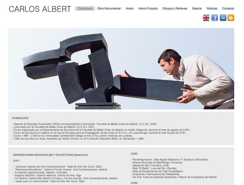 Carlos Albert Blog (Diseño Wordpress) -1