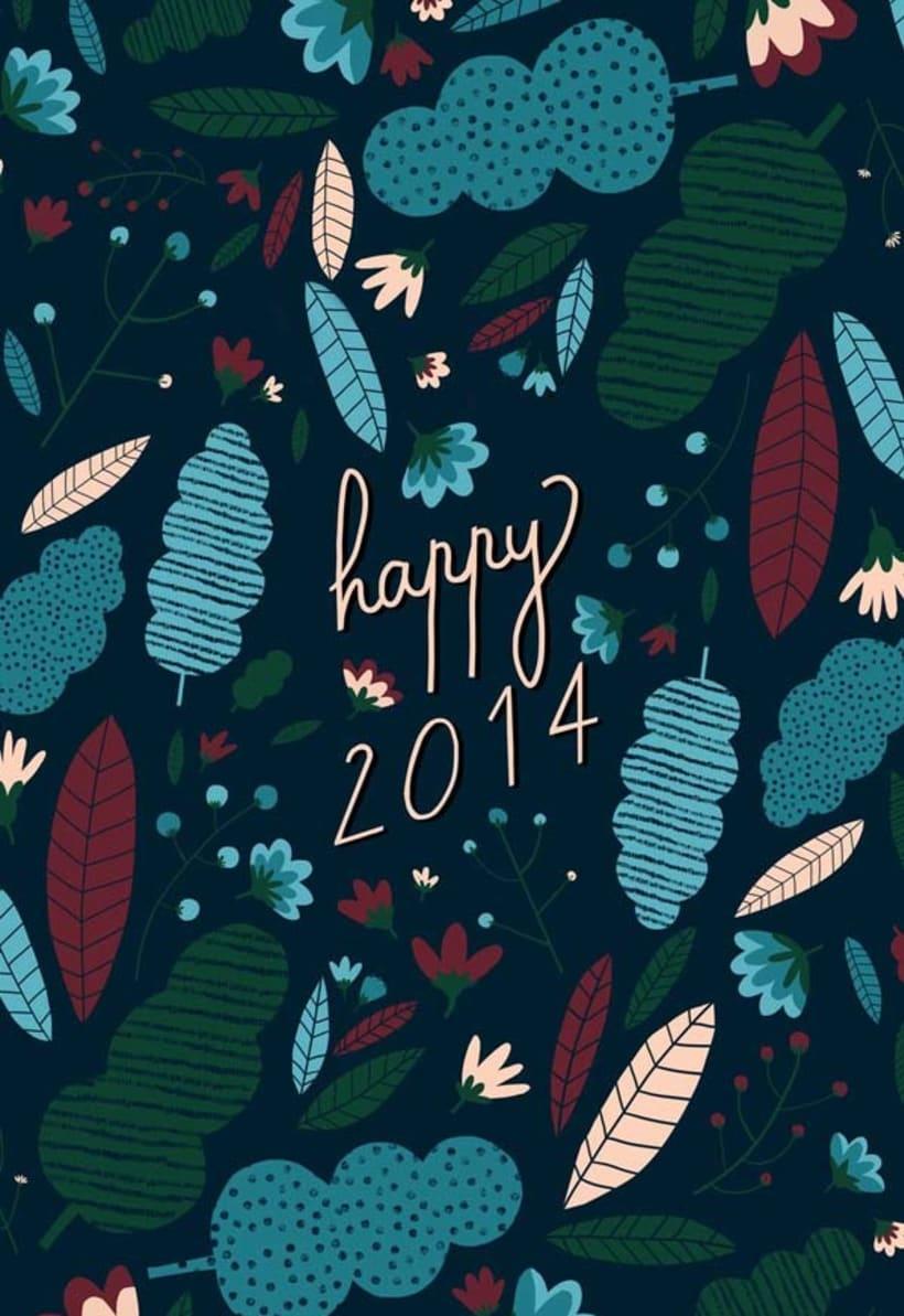 Happy 2014 - Postal 1
