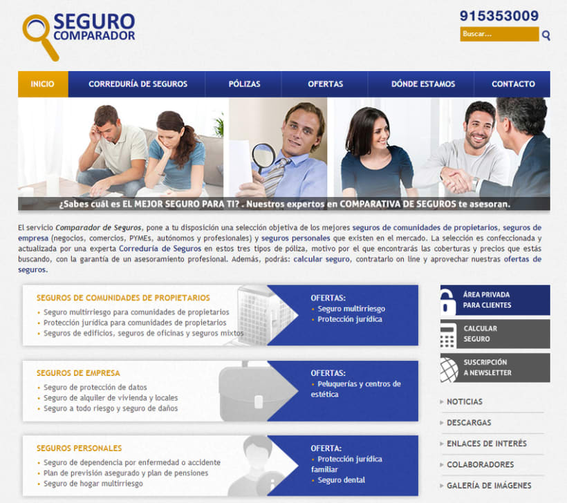 Seguro comparador (Wordpress+Layout HTML5/CSS3/JS Framework) -1