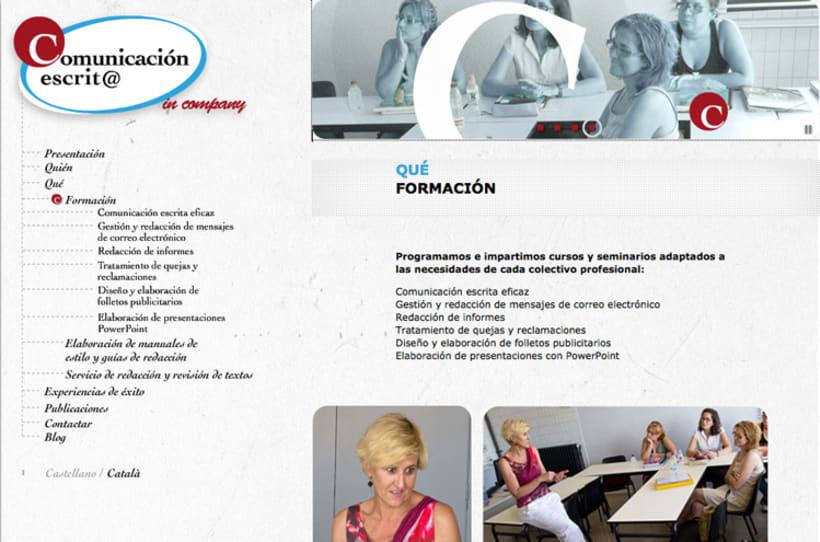 Imagen corporativa, web y blog 1
