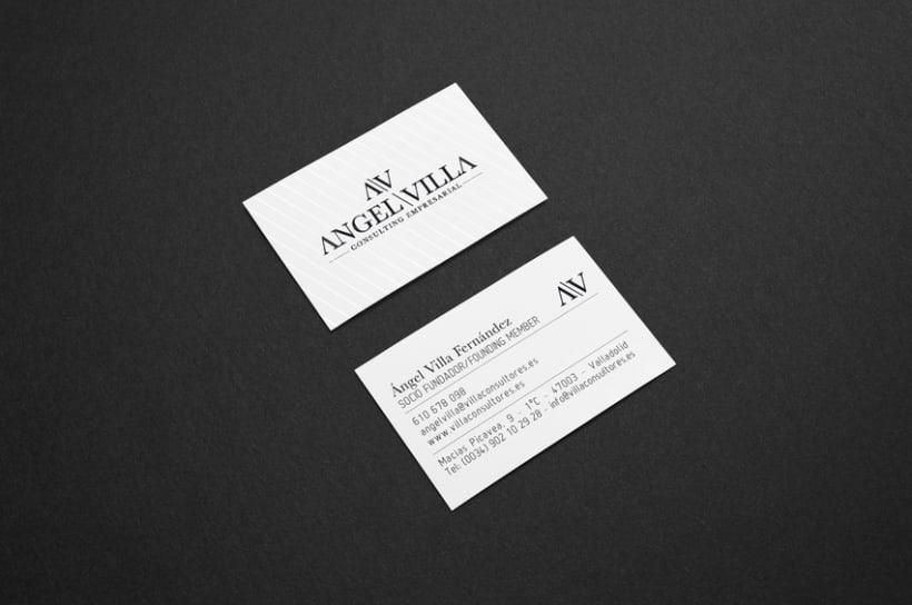 Identidad Corporativa + logotipo consultoría empresarial 1