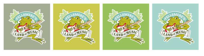 "Ident. Fellsmere's ""Land of Music"" Festival. 1"