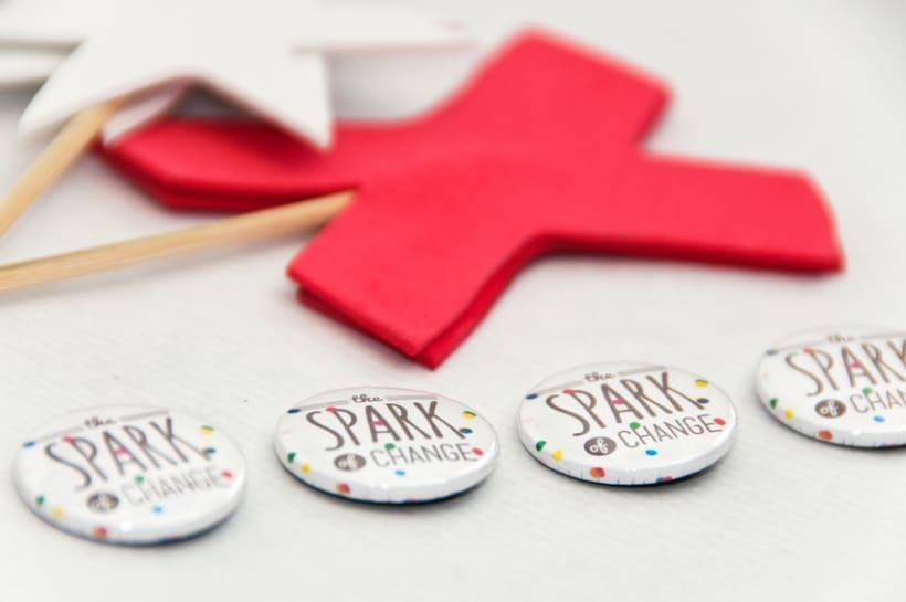 The Spark of Change. Diseño corporativo para el TEDxYouth Gijón 2