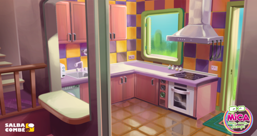 MICA (Animated serie Background desing) 4