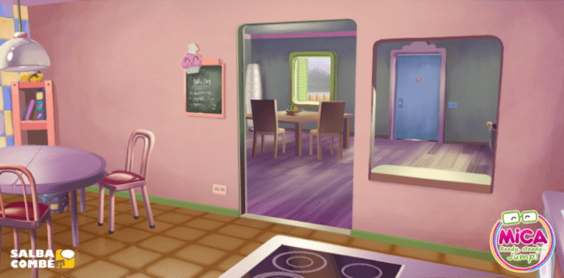 MICA (Animated serie Background desing) 3