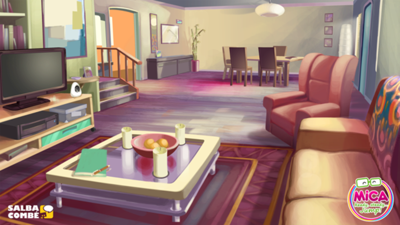 MICA (Animated serie Background desing) 0