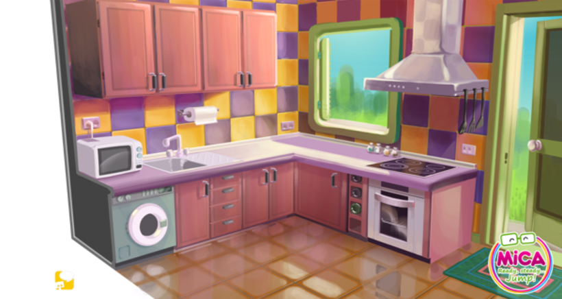 MICA (Animated serie Background desing) 5