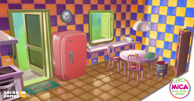MICA (Animated serie Background desing) 6