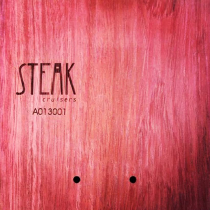 Steak Cruisers. Diseño de logotipo 5