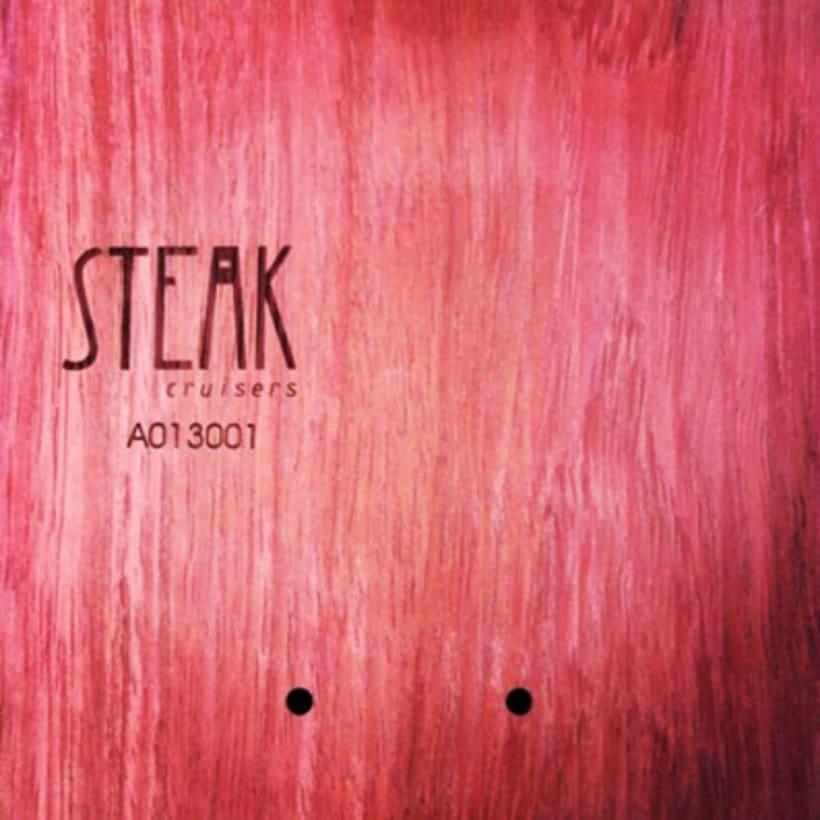 Steak Cruisers. Diseño de logotipo 5