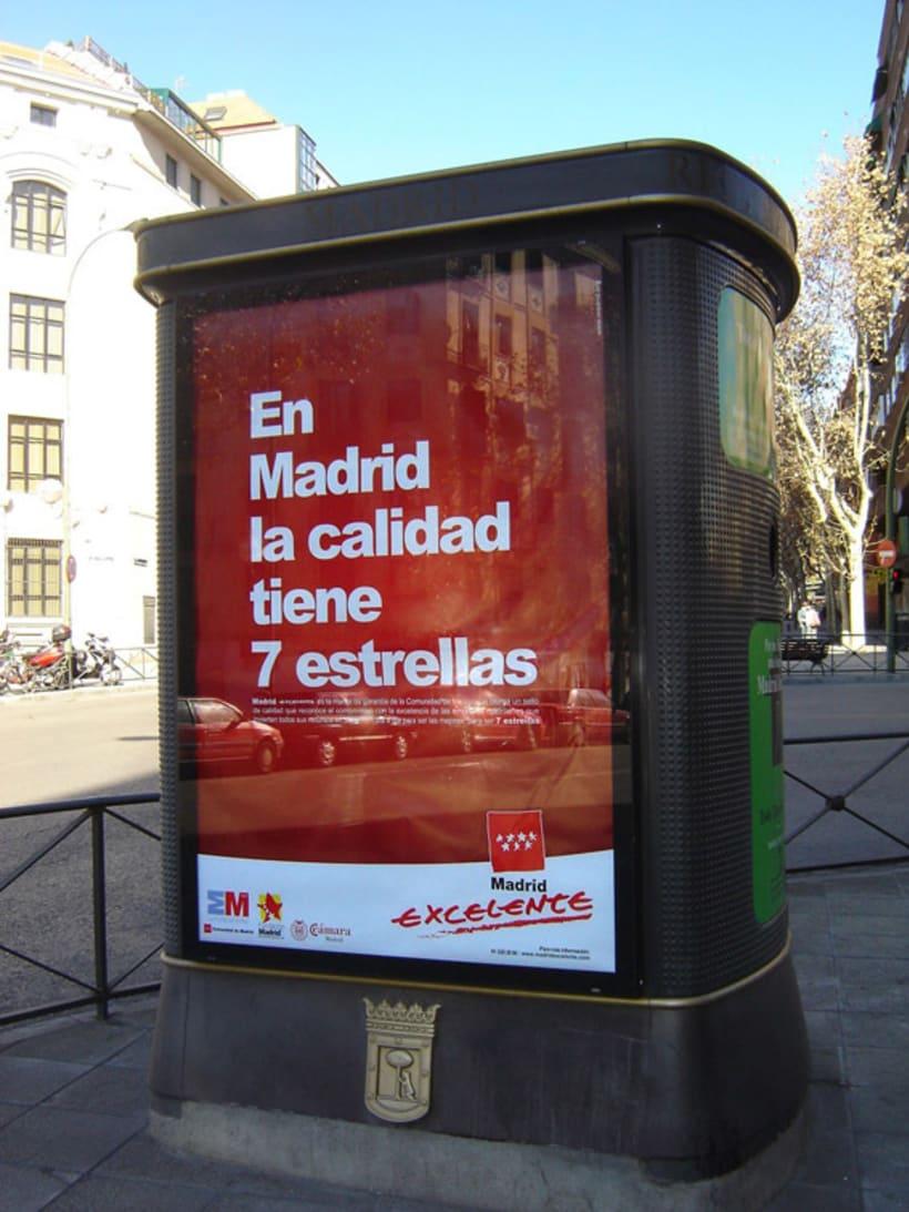 campaña Prensa Radio y Exterior Madrid Excelente 1