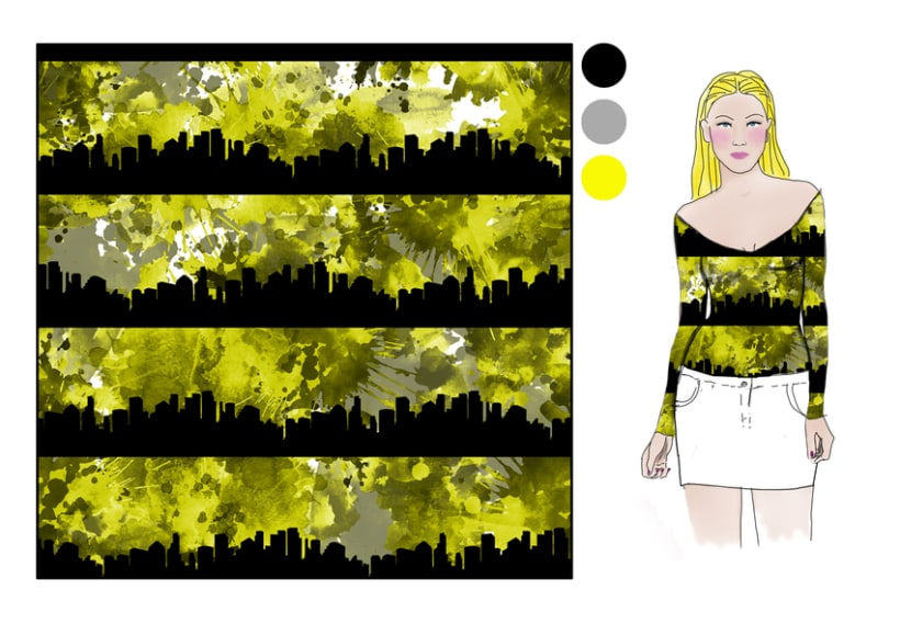 "Projecto Ready to Wear Spring/Summer 2014 ""City Nights"" 1"