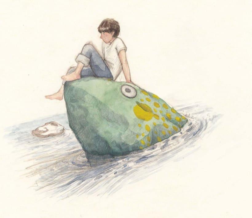 Ben's Angel- proyecto de ilustración infantil 0
