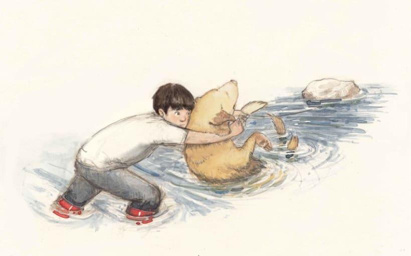 Ben's Angel- proyecto de ilustración infantil 5